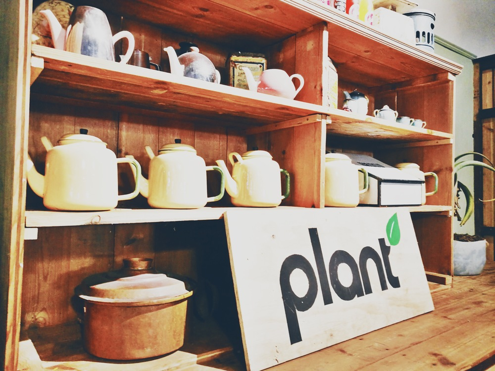 PLANT CAFE AT THE DISTRICT SIX HOMECOMING CENTRE