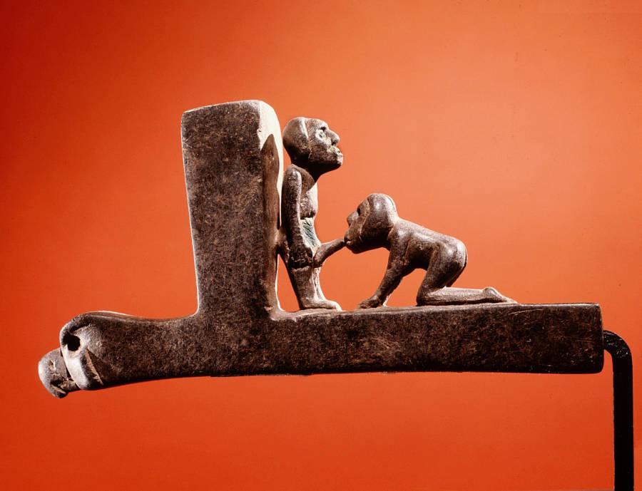 Cherokee Ceremonial Stone Pipe