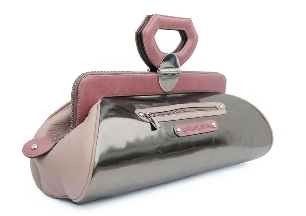 unikatna usnjena ženska torbica