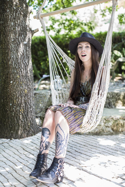 Dress H&M | Boots Toga Pulla | Hat | Belt Ruiz the label