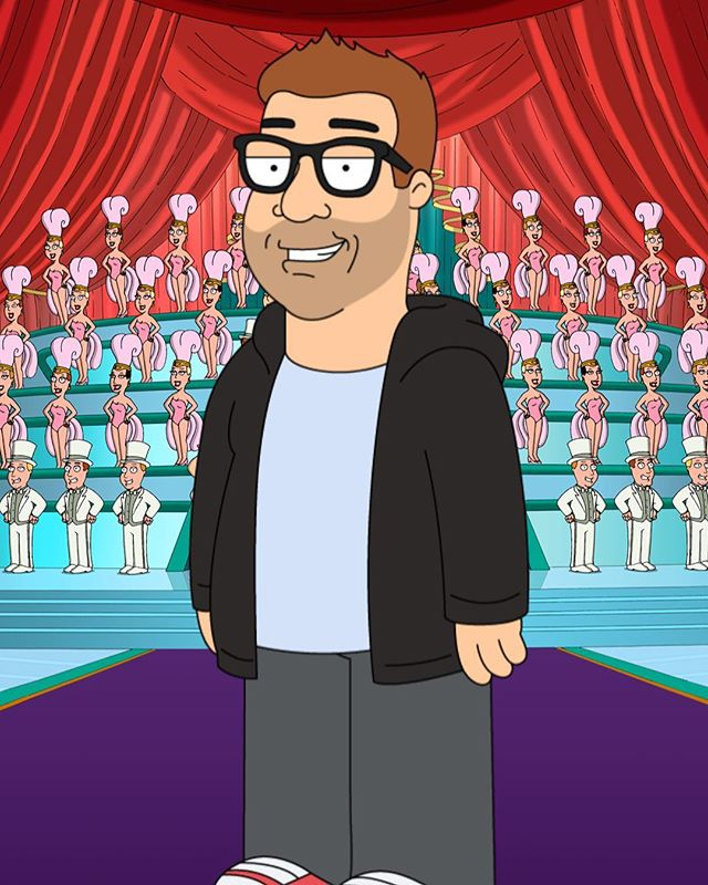 I family guyed myself xD this is fun try it out at http://www.familyguyyourself.com/