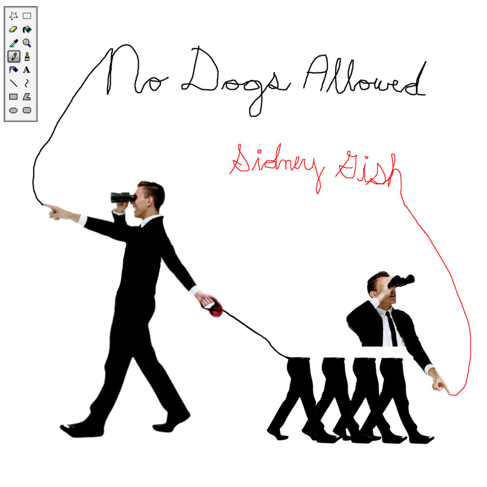 Sidney Gish created and released her last album  No Dogs Allowed  during her last Winter Break. Gish is currently a student at Northeastern University in Boston and intends to create and release a new album during this year's WInter Break. Album art owned by Sidney Gish.