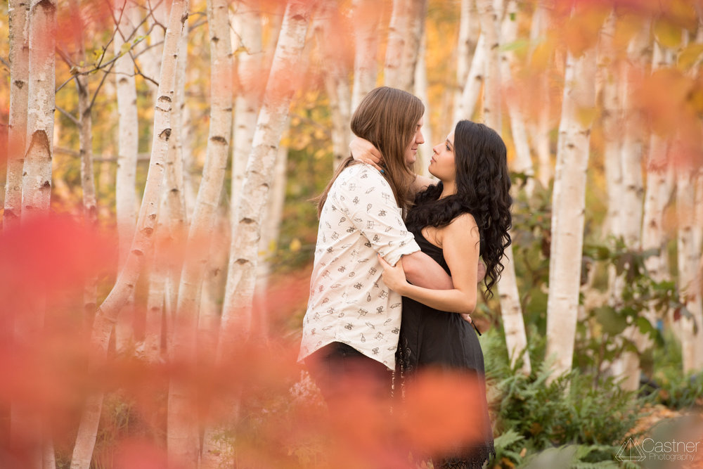 madison olbrich fall engagement photography