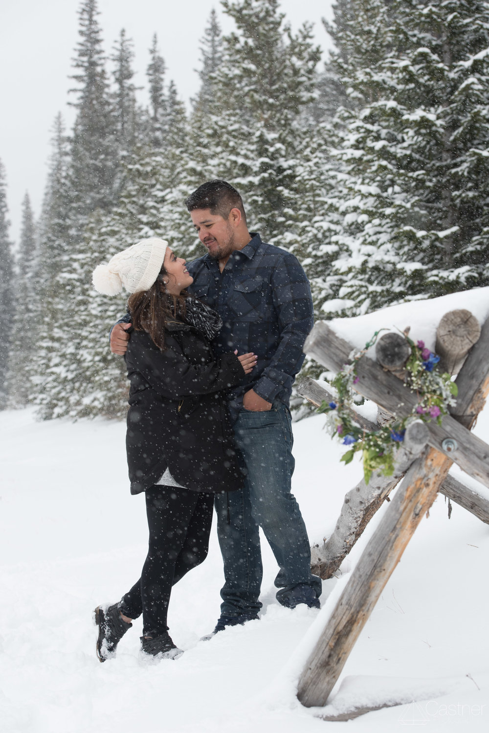estes park rocky mountain national park engagement