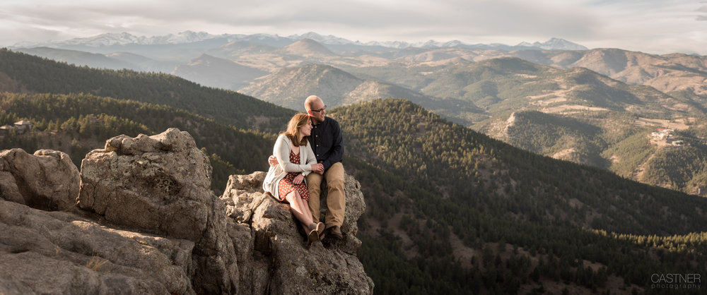 boulder colorado wedding photographers engagement mountains