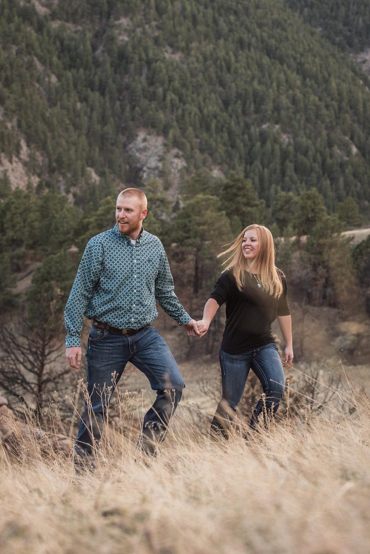 boulder engagement photography settlers park