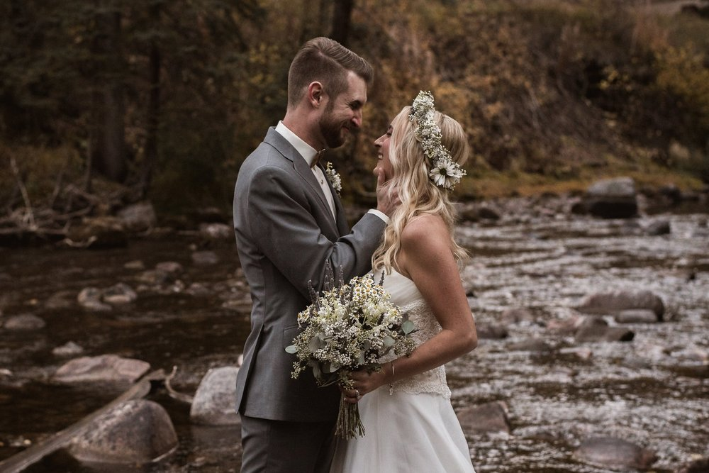 vail resort wedding photography fall mountains