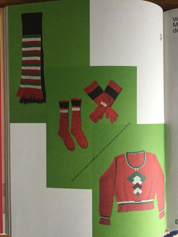 "Lola Prussac for Hermès, ser for sky, 1937, catalog of the ""Fashion Mix ""exhibition, Cité nationale de l'histoire de l'immigration Paris"