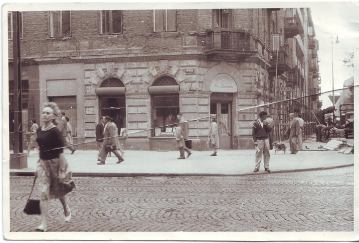 Zaremba , 15 Nowogrodzka Street after the War World II,  courtesy of Zaremba