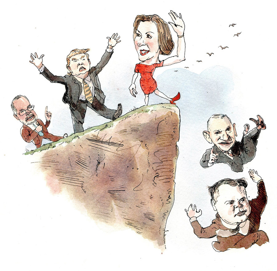 Illustration by Barry Blitt.