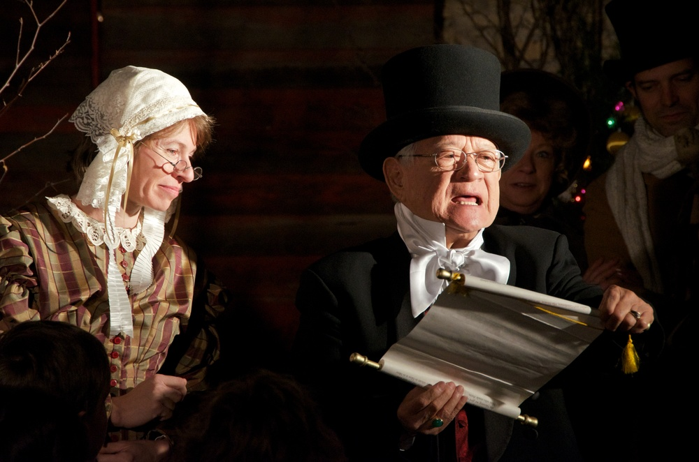 former MAYOR chuck hazama AS LORD MAYOR IN A CHRISTMAS CAROL - 2013