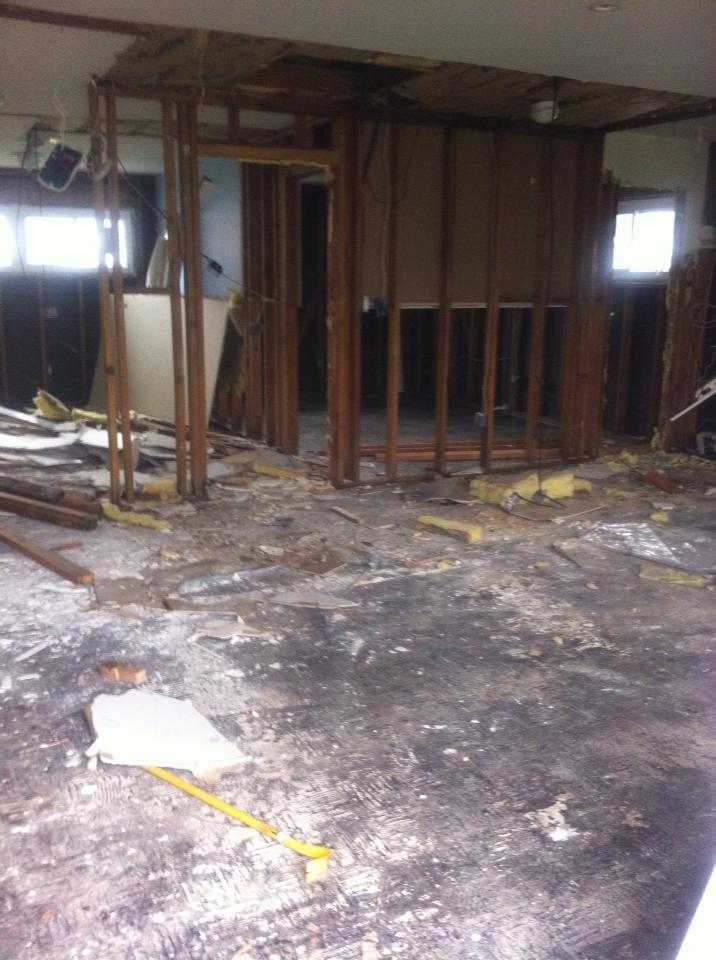 Elizabeth Murphy's Home - Gutted