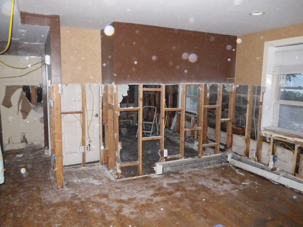 Stephen Serwin's Property - Gutted After Sandy