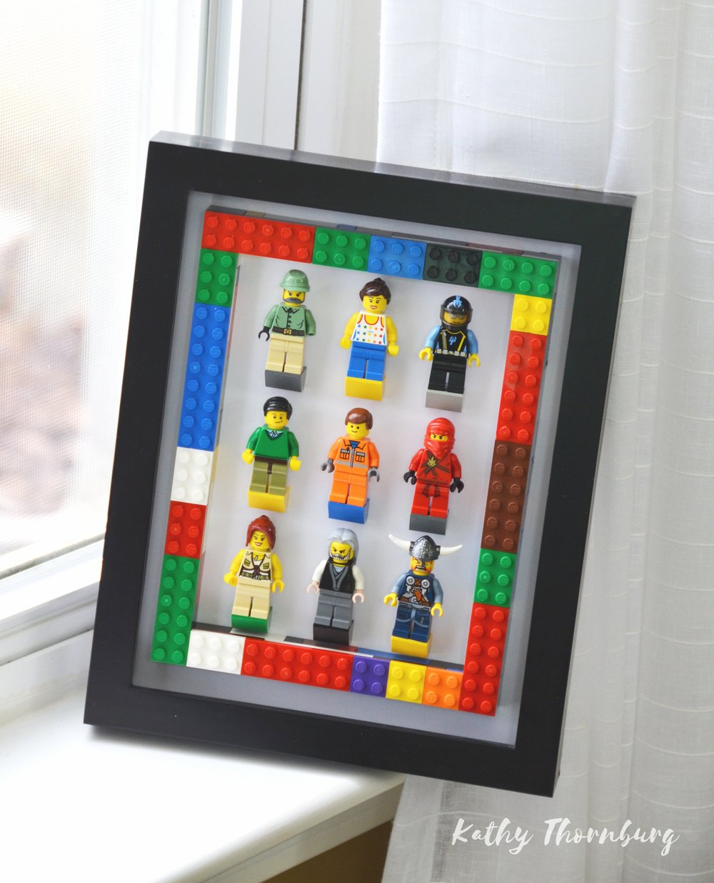 LEGO SHADOW BOX DISPLAY -