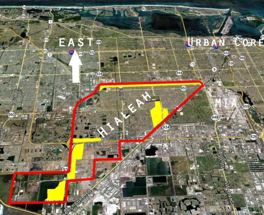 1, 2, 3, Hialeah, The city of progress -