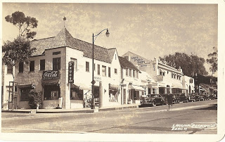 Coast Hgwy - Rawson Pharmacy in Heisler Building - Pepper Tree Lane - Tom Pulley Postcard Collection.jpg