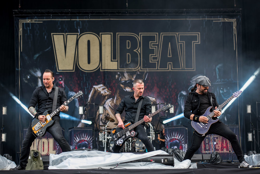 Volbeat are Download headliners in waiting.