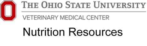 OSU Nutrition Resources