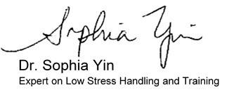 Dr. Sophia Yin, behavior expert