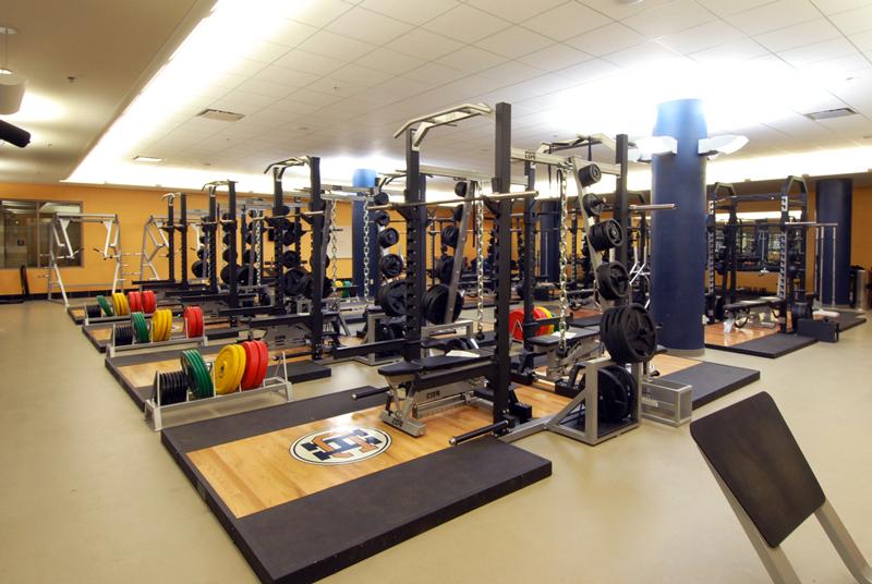Holy Cross School - Weight Room