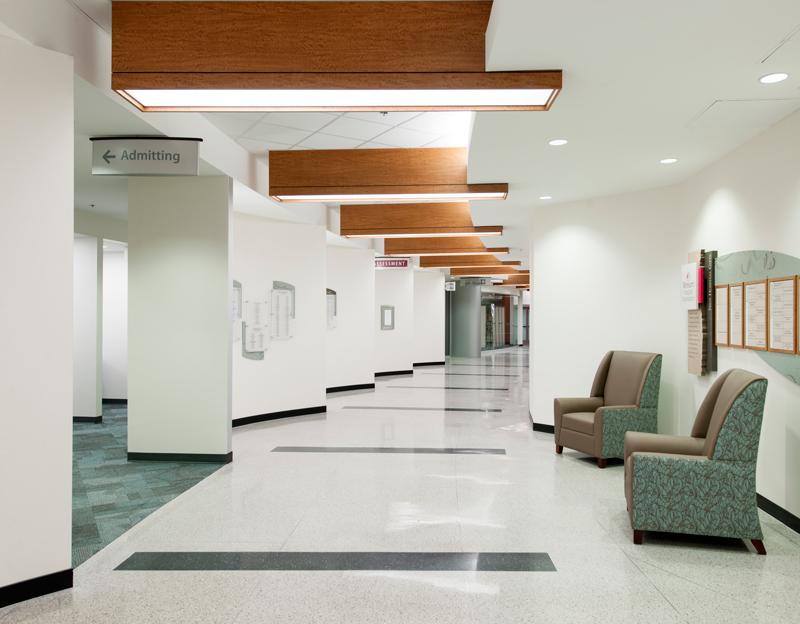 Women's Hosipital Corridor