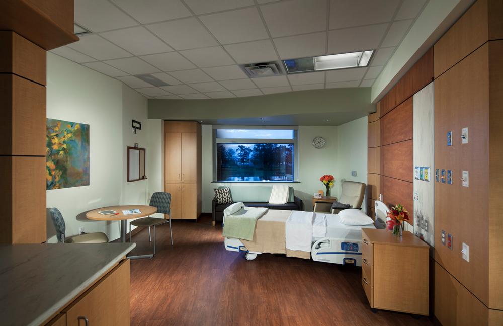 Women's Hospital Room