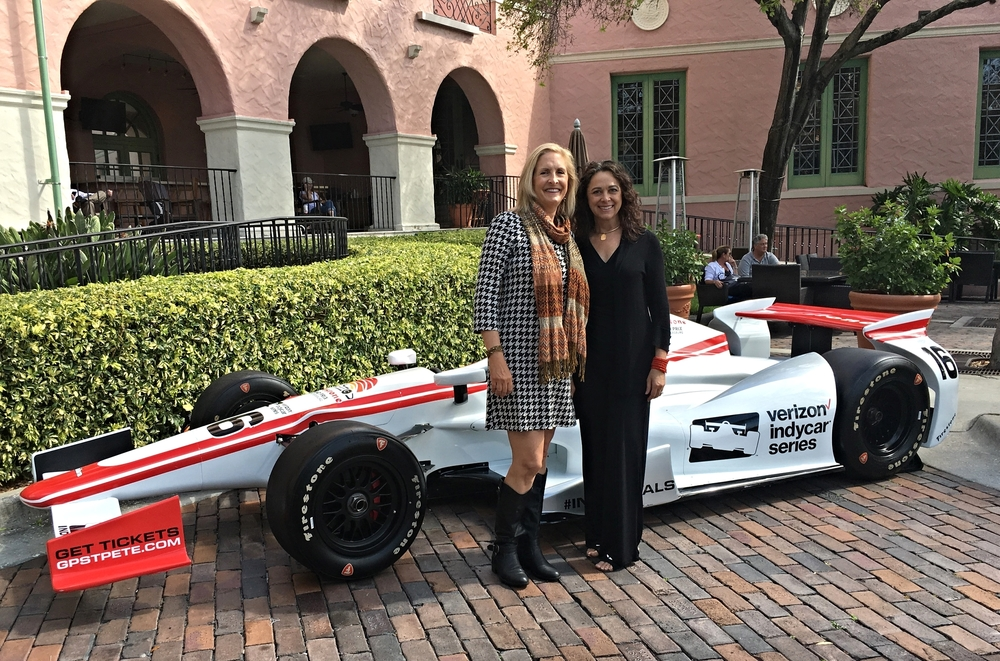 Tourism in St. Petersburg - 2016 Indy Car press event