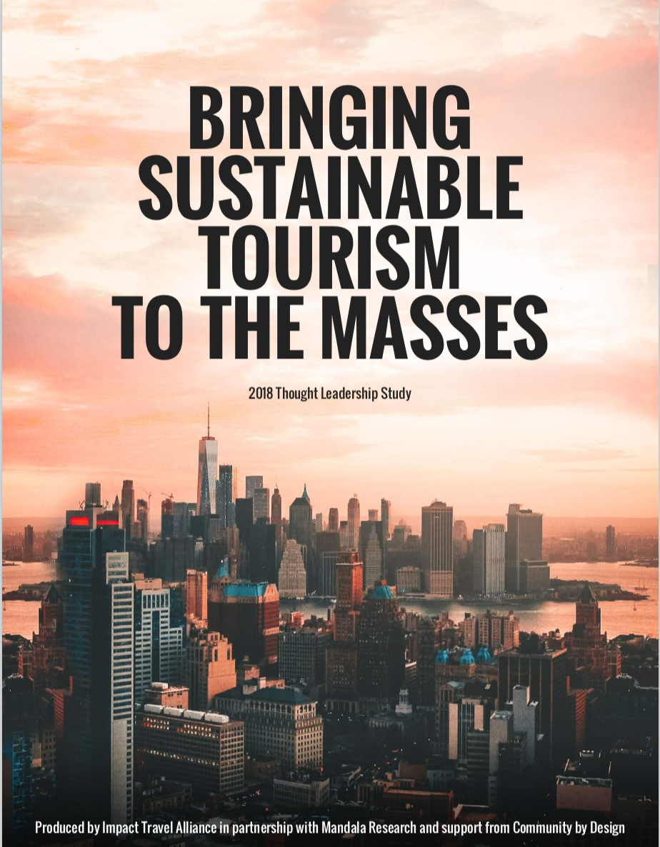 Destination Better was a partner contributor to this thought leadership study. - Includes 32 tactics for businesses to boost their revenue by promoting their sustainability practices - let's identify and communicate those for your business.