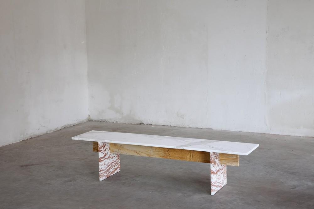 Muller Van Severen , Marble Bench 2015