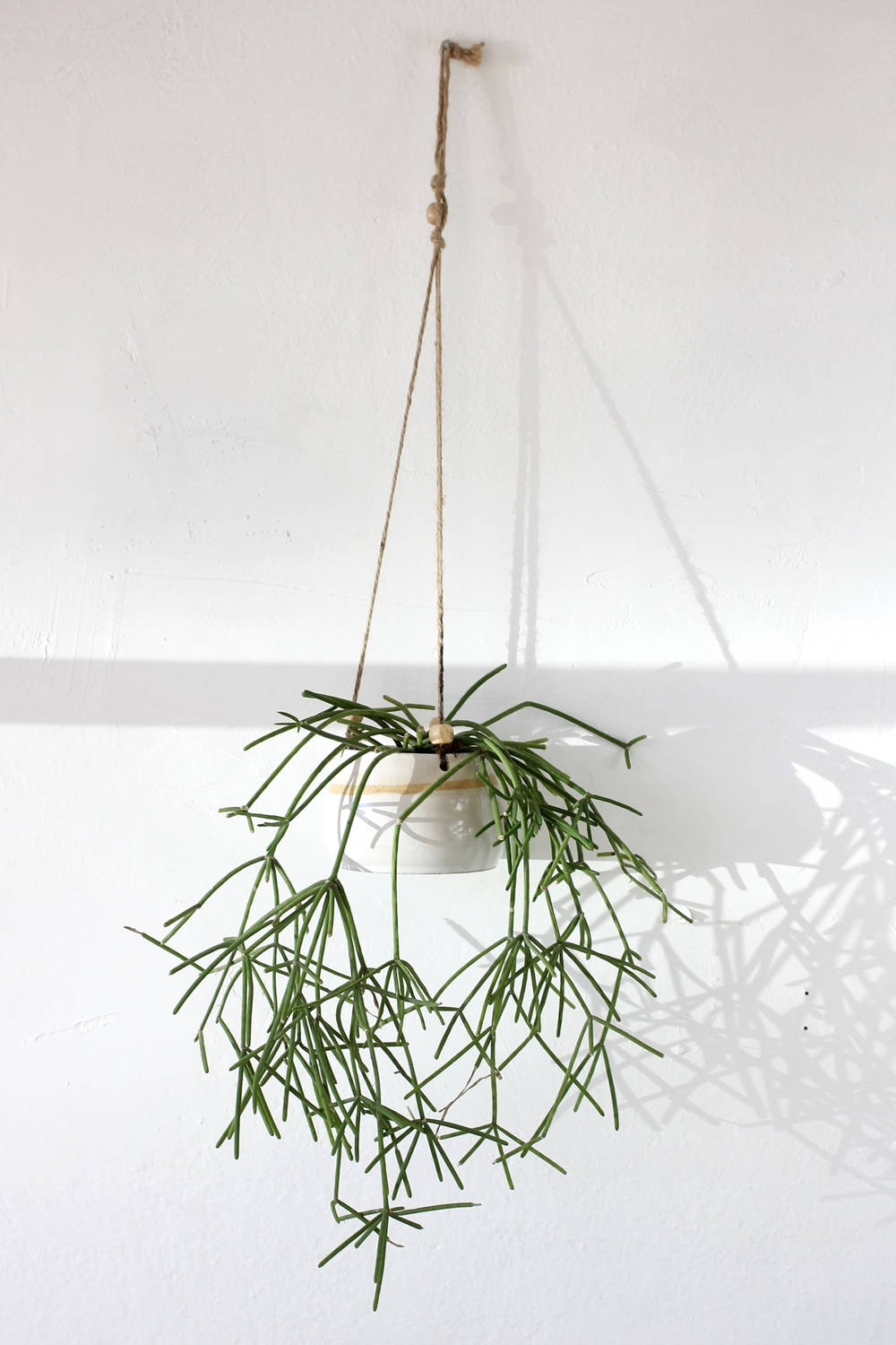 Ceramic Hanging Planter, via Wild Poppy Goods