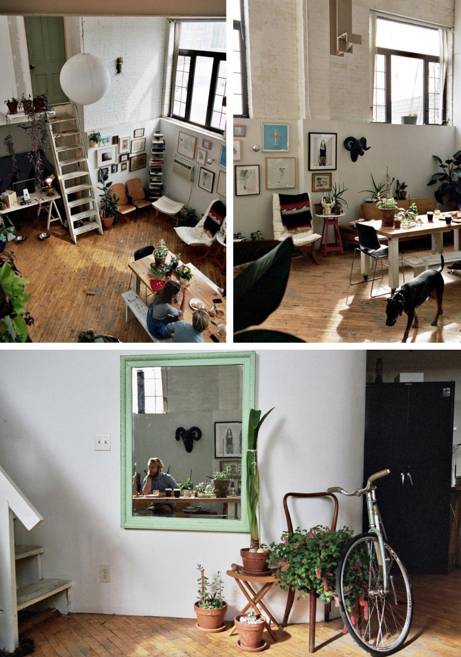 Jessica Barensfeld & Simon Howell home via Freunde von Freunden, Photograph Brian W. Ferry