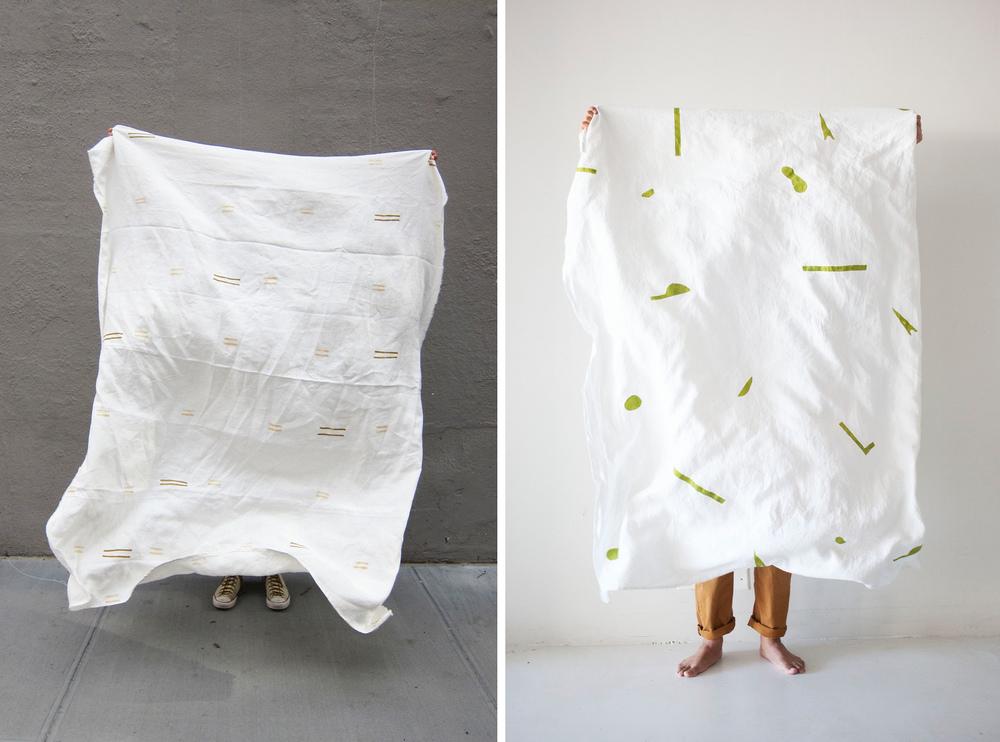 Linen Blanket from  Caroline Z Hurley