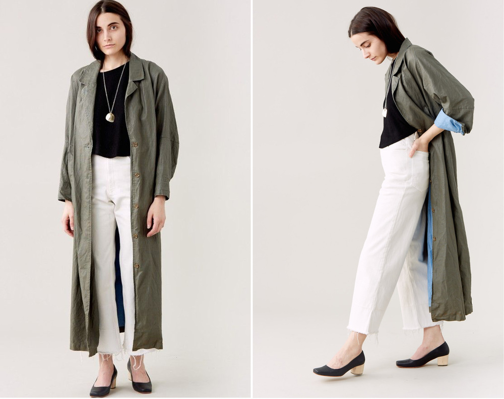 Zia trench from Rachel Comey