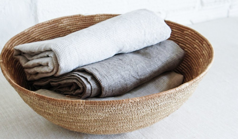 Linen blanket via Spartan Shop