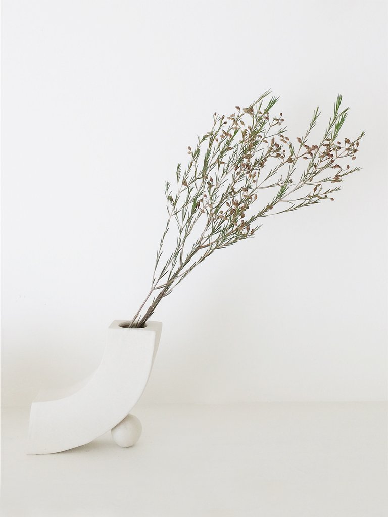 Rachel Saunders Curve Vase via  Association Shop