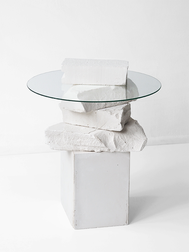 Unbroken Side Table by  LoveAesthetics