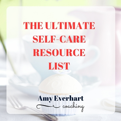 Ultimate SelfCare Resource List