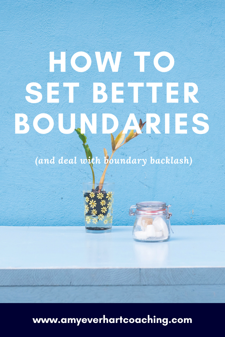 """These are my Top 10 Boundary Do's and Don'ts + How to Deal When Backlash is Headed Your Way  Boundaries are hard. As women, we often ask ourselves, """"How do I find the courage to focus on my goals while still fitting myself in around others' needs and expectations?""""  Here's how to cope with setting boundaries and handling other people's reactions."""
