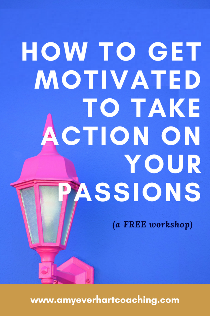 Want to use your passion to make a difference? This free workshop will teach you how to narrow down your ideas and find your niche (even if you have all the ideas),  how to feel motivated and focused to take action on your passion, a vision of your personal, meaningful mission, and how to decide whether a career or a business is right for you.