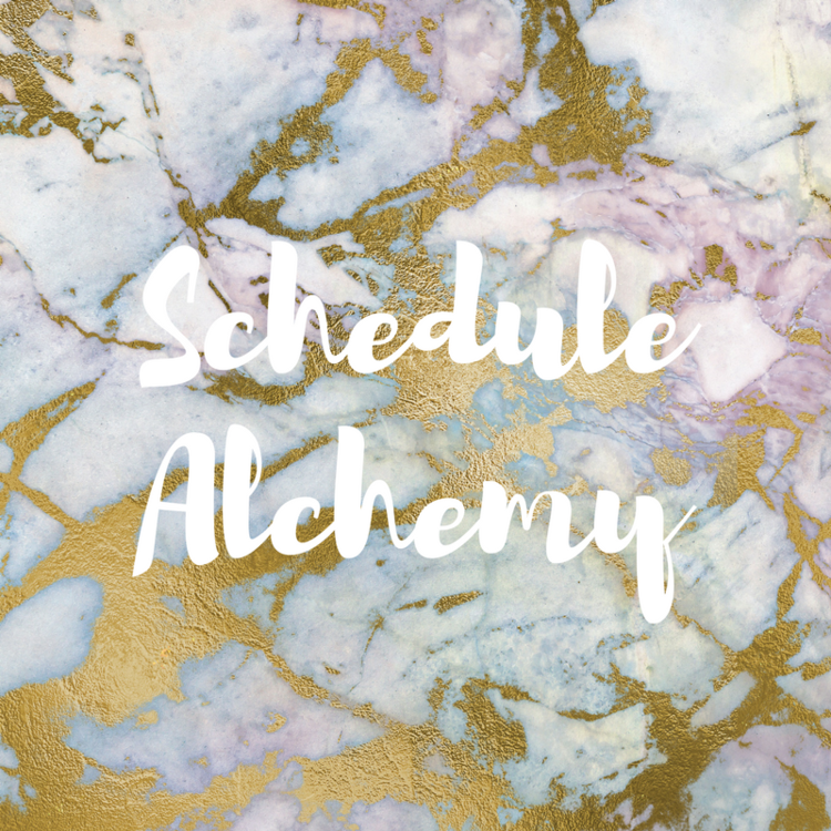 Schedule+Alchemy - Amy Everhart Coaching