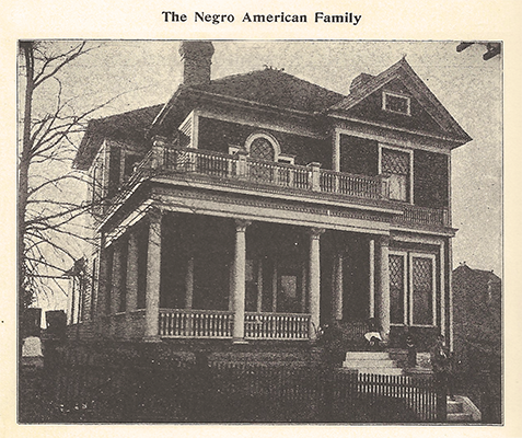The Hamilton Howell House Circa 1890