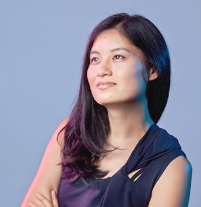 Founder and CEO of Lark Health, Julia Hu.