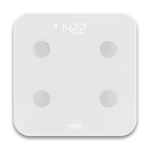 SmartScale from iHealth - paired with Lark to track your weight loss.