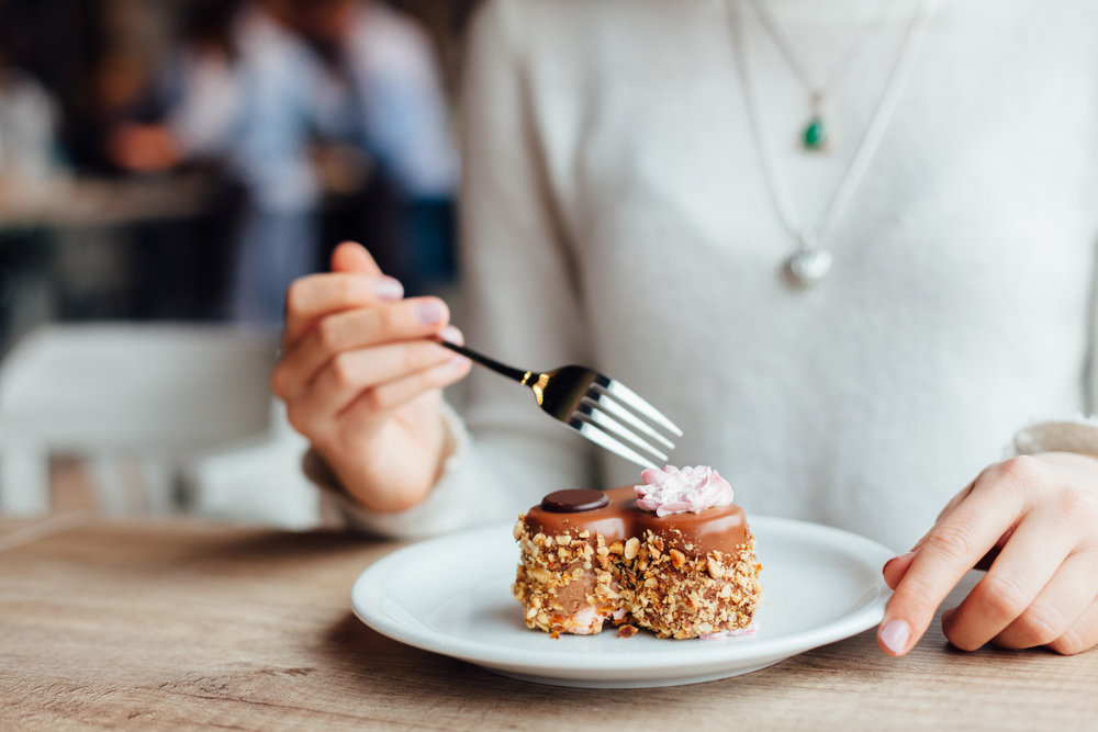 Removing desserts is an easy way to reduce sugar intake for people beginning to become resistant to insulin.