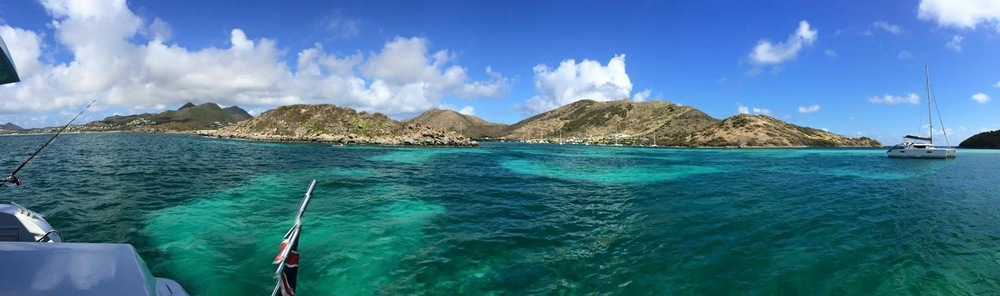 The following day the crew set sail to Panel Island. Its emerald green water has to be seen in person to truly appreciate its beauty. Fortunately, Trade Winds offers a sailing experience that is comparable to a resort vacation.
