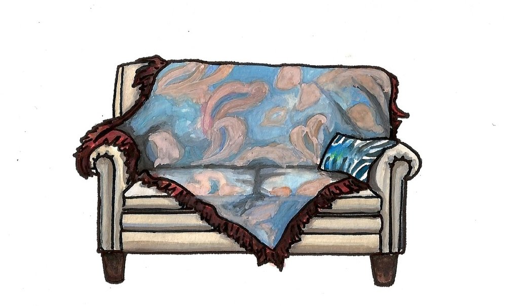 Sanford and Son's Couch