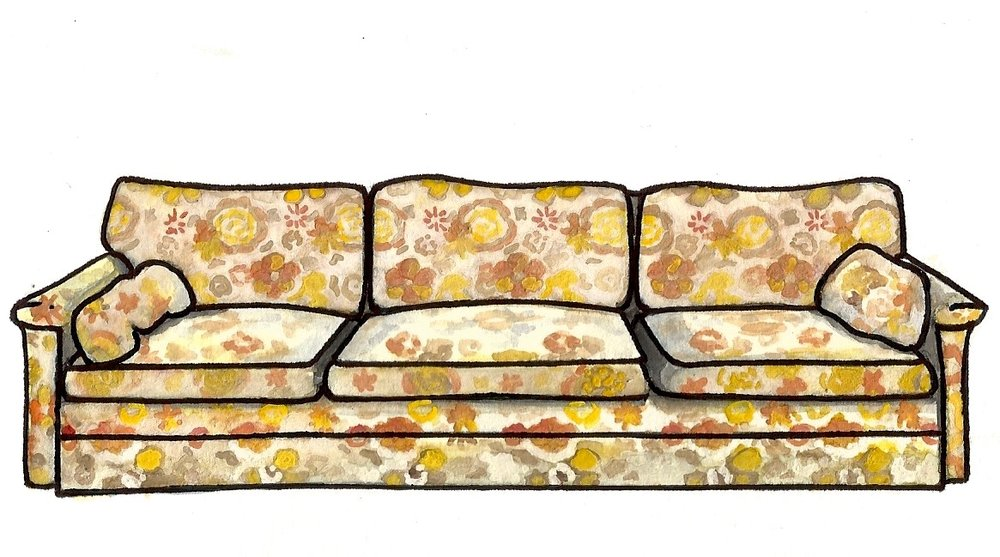 The Bundy's Couch