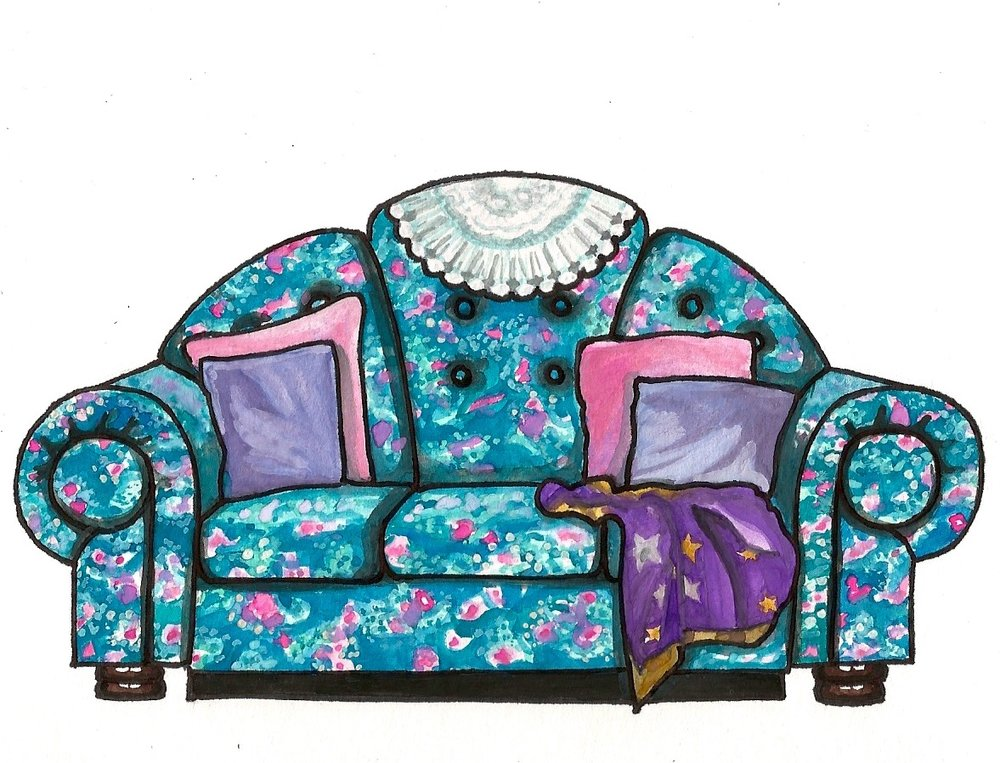 The Big Comfy Couch Couch