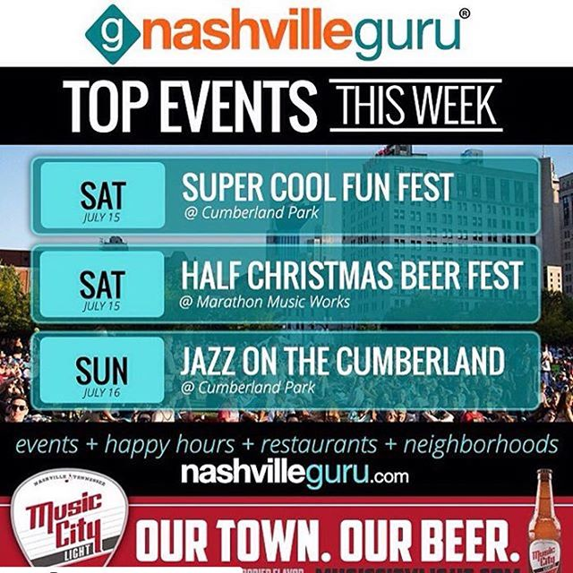 #Repost @thenashvillesign (@get_repost) ・・・ Big weekend up ahead, folks! Cumberland Park is the spot for outdoor hangs, and @mmusicworks is here with the Half Christmas cheer. Thanks to @nashvilleguru and @musiccitylight for keeping us informed on how to maximize our weekends.