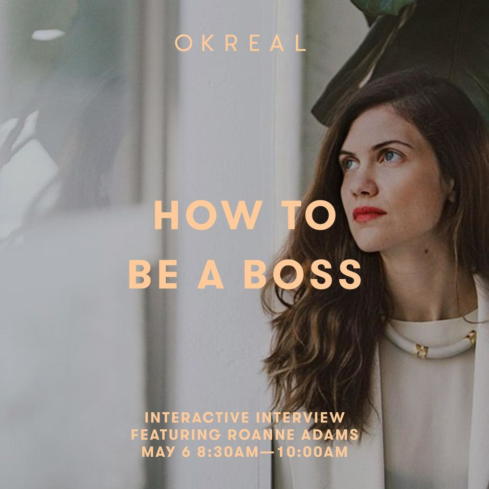 how to be a boss an interactive interview roanne adams how to be a boss an interactive interview roanne adams okreal